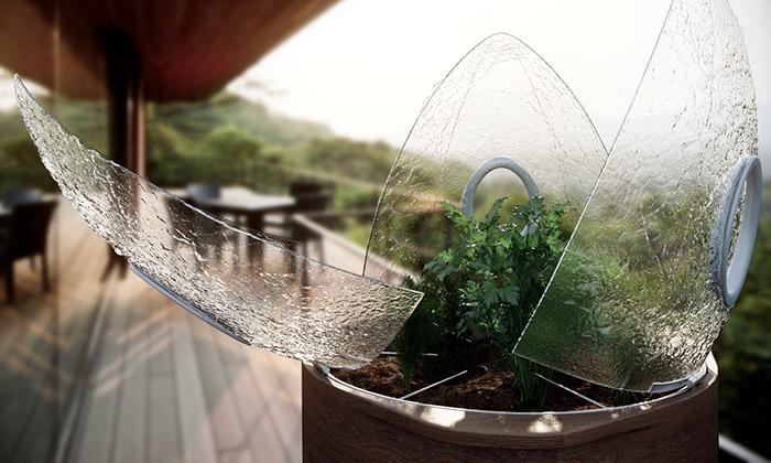Češi aSlováci navrhli bio pěstírnu Balcony Cultivator