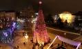 Hello Wood a jejich vánoční strom v Budapešti