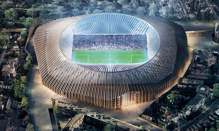 Herzog & de Meuron navrhli stadion pro Chelsea FC