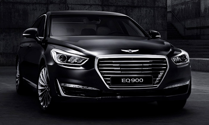 Hyundai představil sedan G90 pod značkou Genesis