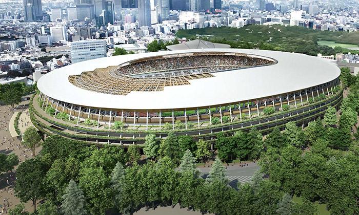 Kengo Kuma postaví vTokiu nový Národní stadion