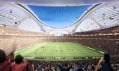 Návrh od Zaha Hadid v obnovené soutěži na Národní stadion v Tokiu
