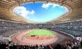 Vítězný návrh od Kengo Kuma v obnovené soutěži na Národní stadion v Tokiu