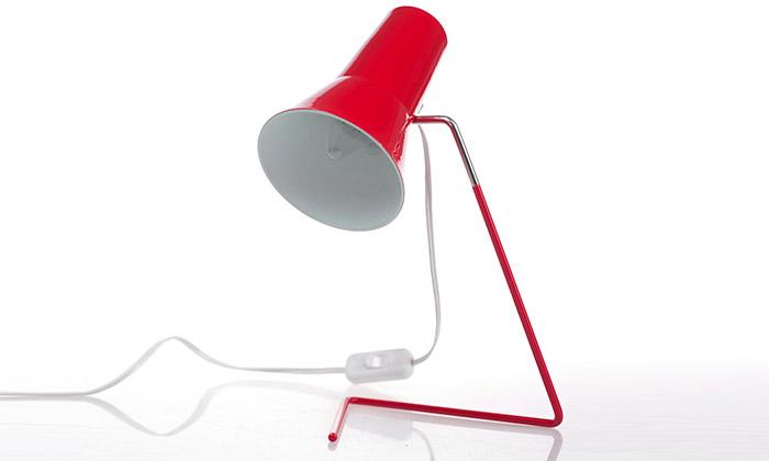 Ikonická lampička odDrupolu sevrací po50 letech
