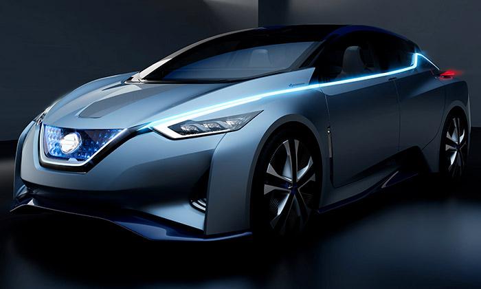 Nissan IDS jeautonomní karbonový elektromobil