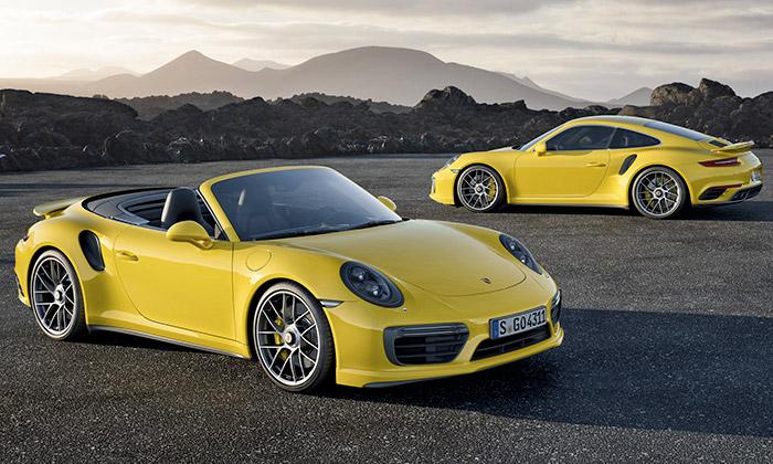 Porsche inovovalo modely 911 Turbo a911 Turbo S