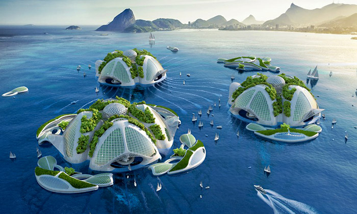 Callebaut navrhl 3D tištěné domy zodpadu zmoře