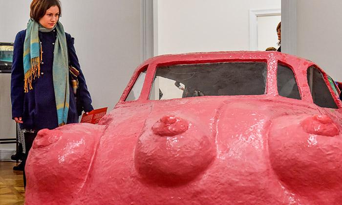 Art is Here jenová stálá expozice vMoravské galerii
