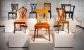 Pohled do expozice Český kubismus v domě U Černé Matky Boží
