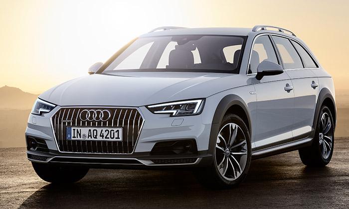 Audi ukázalo terénně vyhlížející A4 Allroad Quattro