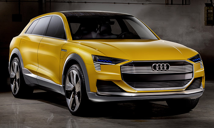 Audi představilo vodíkový H-tron Quattro Concept