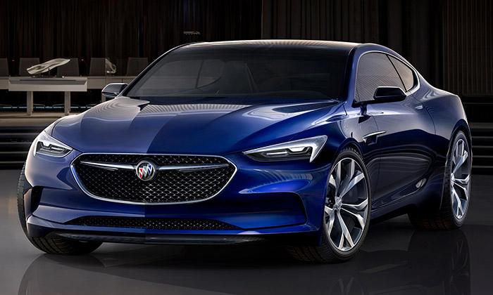 Buick představil dynamicky elegantní koncept Avista