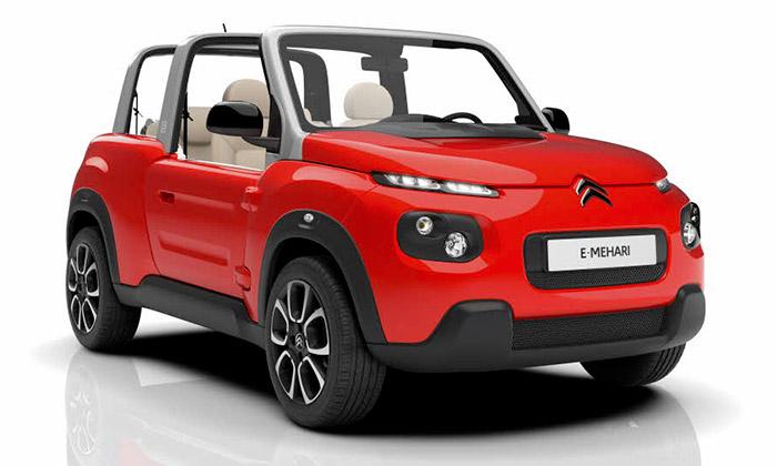 Citroën uvádí elektricky poháněný kabriolet E-Mehari