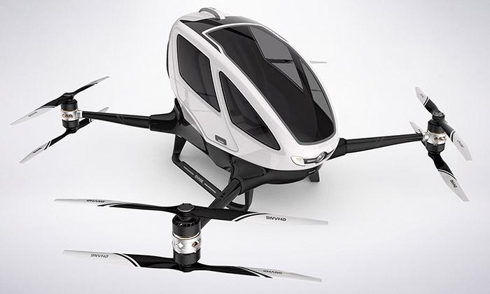 Ehang 184 jeautonomní dron pro osobní přepravu