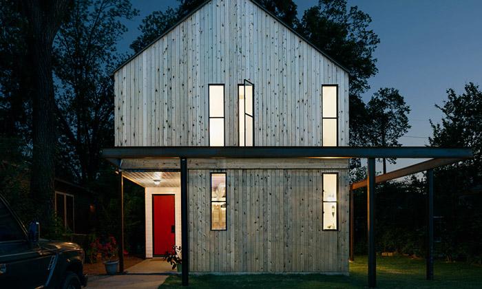 Garden Street Residence jeinspirována stodolou