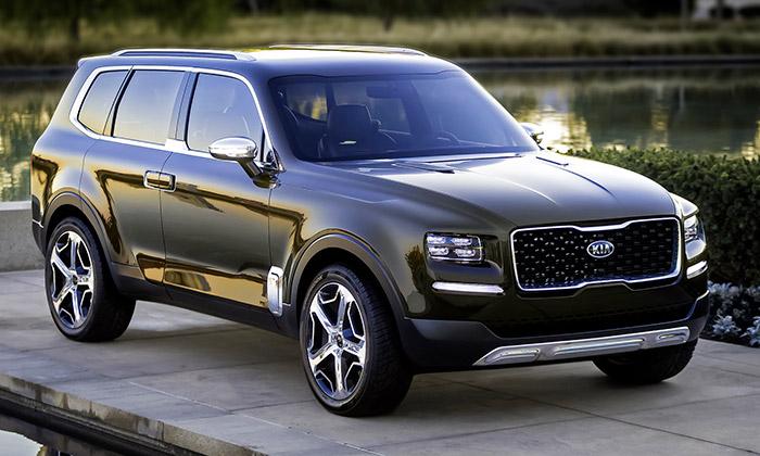 Kia Telluride jevize luxusního sedmimístného SUV