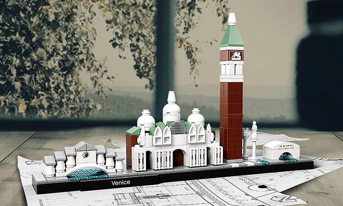 Lego Architecture serozrostlo oBenátky iNew York