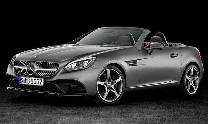 Mercedes-Benz představil dvoumístný roadster SLC
