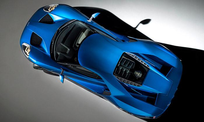 Nový supersport Ford GT používá skla Gorilla Glass