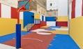 Basketbalové hřiště od Ill Studio v pařížské čtvrti Pigalle