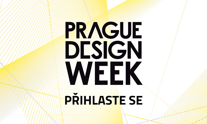 Nový vizuál designérské přehlídky Prague Design Week 2016