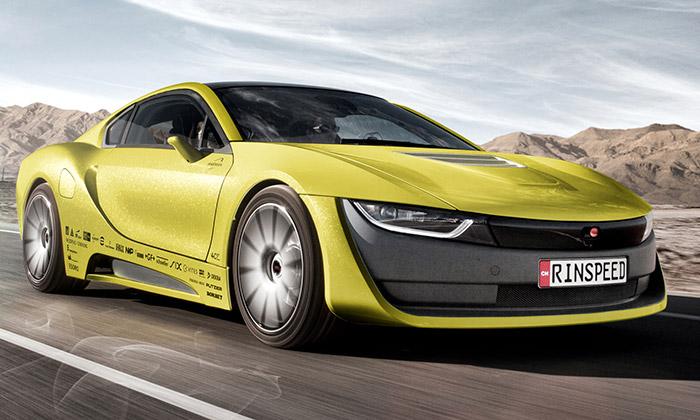 Rinspeed Etos jeautonomní sportovní vůz sdronem