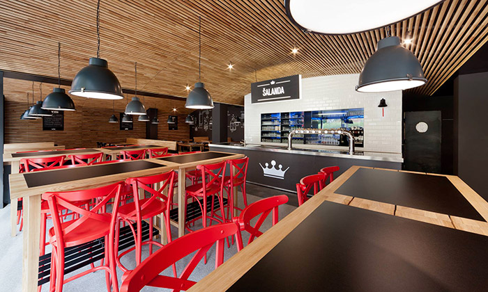 Vrtiška aŽák navrhli restauraci Šalanda jako sklep