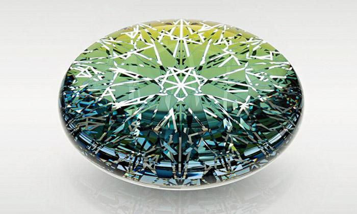 Ukázka z výstavy Glassplus à la Borges aneb Zrcadlo a maskáč