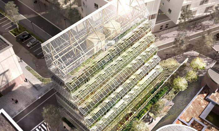 Nedaleko Paříže má vyrůst vysoký komunitní skleník
