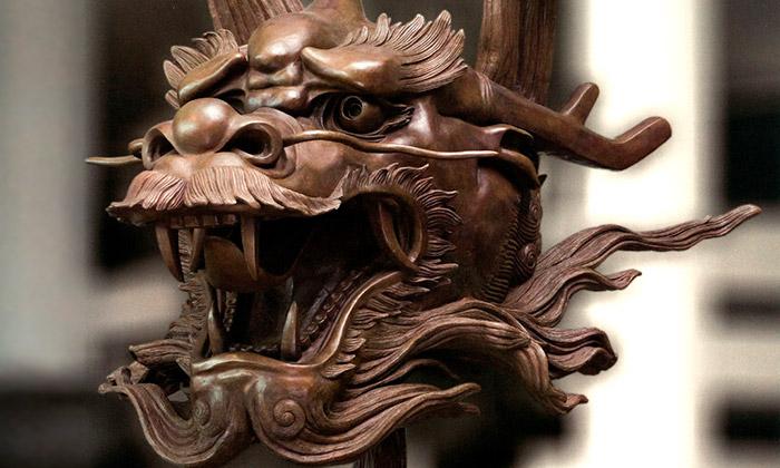 Aj Wej-wej vystavuje vPraze soubor soch Zvěrokruh
