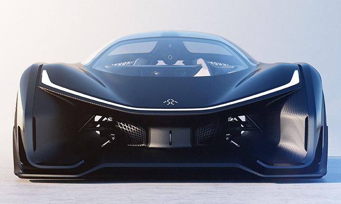FFZERO1 jerevoluční elektrický koncept supersportu