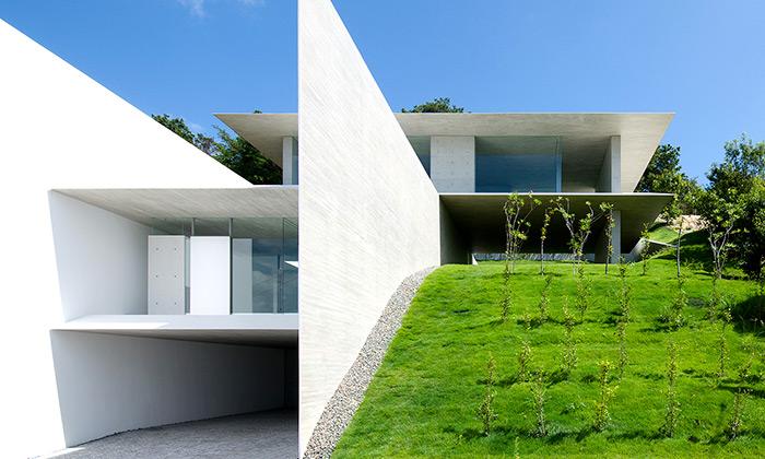Ya-House jeminimalistický dům postavený vesvahu