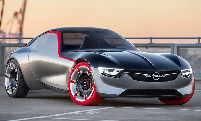 Opel navrhl puristicky tvarovaný sporťák GT Concept