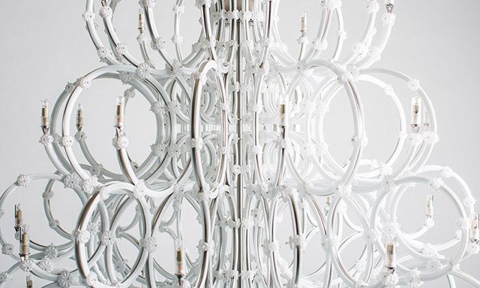 Rony Plesl navrhl pro Preciosu lustr Merkur aVenuše