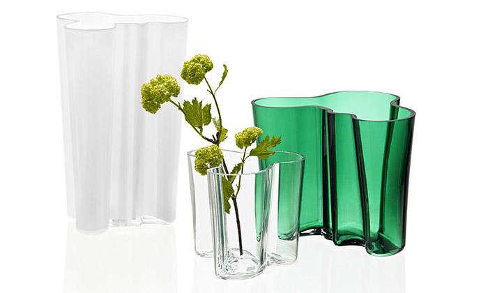 Alvar Aalto a jeho váza Savoy pro značku Iittala
