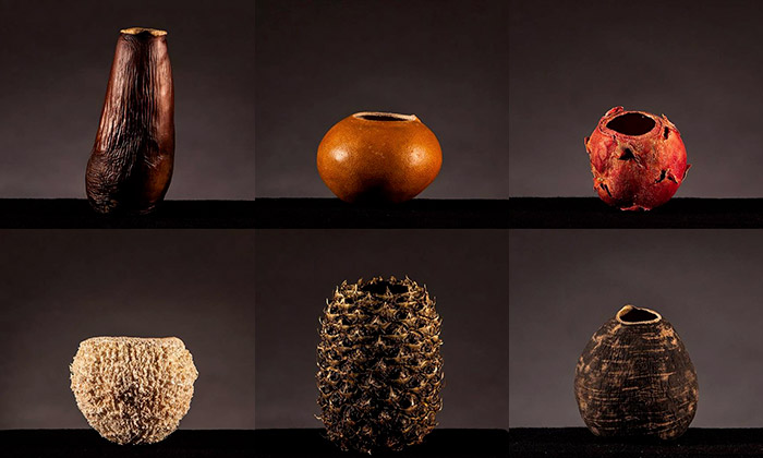 Ukázka z výstavy Materiálový experiment