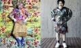 Ukázka exponátů z výstav Utopian Bodies s podtitulem Fashion Looks Forward