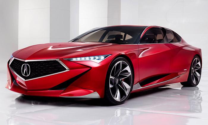 Koncept vozu Acura Precision
