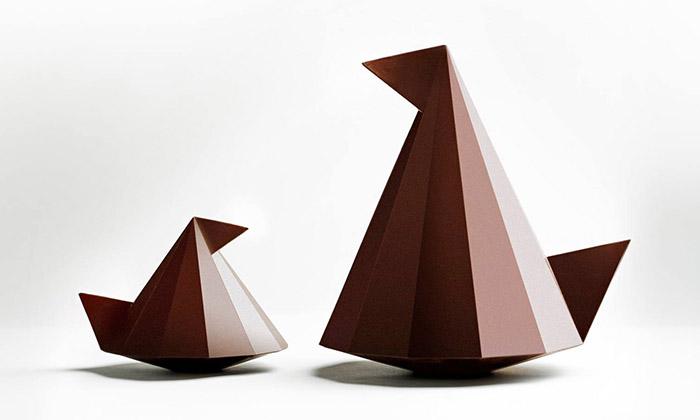 Ducasse vytvořil naVelikonoce čokoládové delikatesy