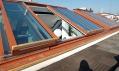 Střešní prosklení Solarajsou vždy plánována individuálně dle dispozic stavby a přání investora či architekta