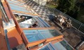 Střešní terasy podstatně rozšiřují užitnou plochu podkrovních bytů
