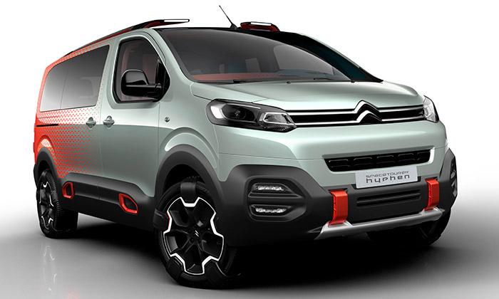Citroën ukázal divoký koncept SpaceTourer Hyphen