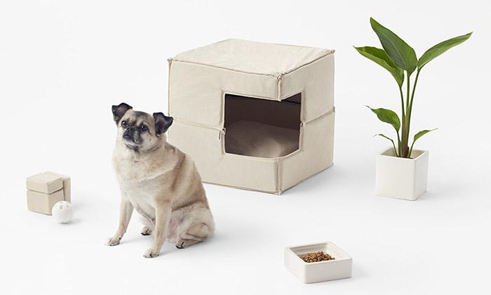 Nendo navrhlo psům minimalistické bytové doplňky