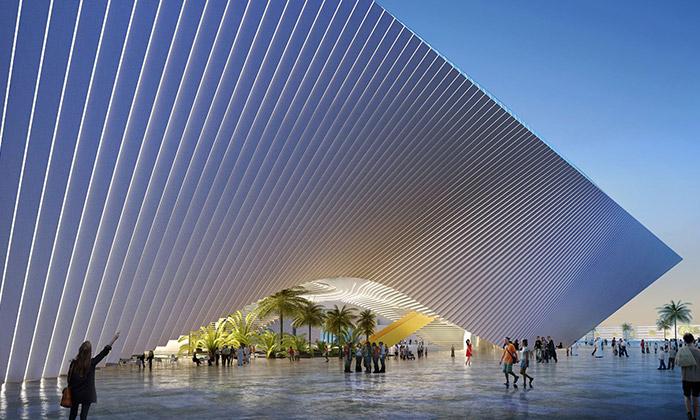 BIG aFoster navrhli tématické pavilony naExpo 2020