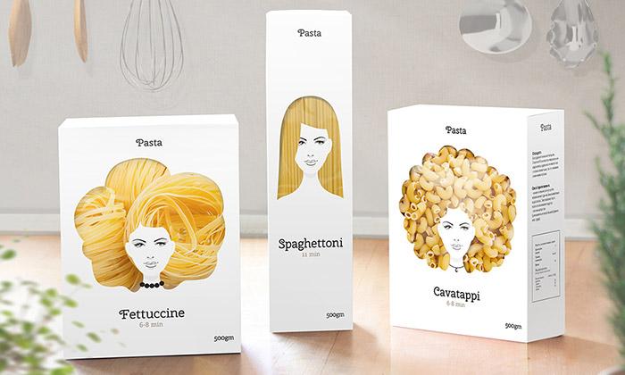 Ruský designér navrhl obaly natěstoviny súčesy