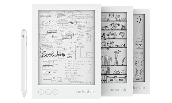 Český tablet nakreslení Noteslate jde doprodeje