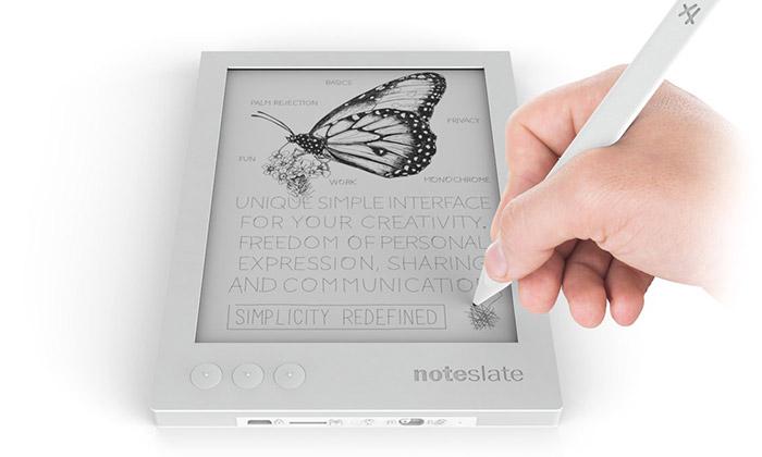 Cesky Tablet Na Kresleni Noteslate Jde Do Prodeje Designmag Cz