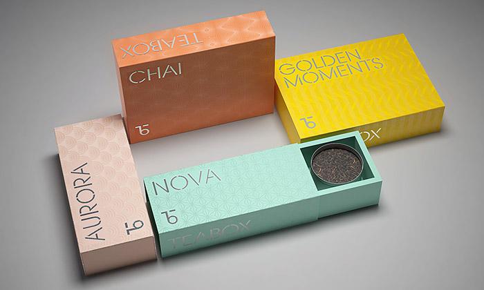 Teabox dává čajům minimalistické abarevné obaly