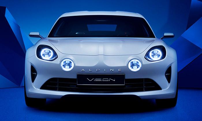 Renault ukázal studii sportovního kupé Alpine Vision