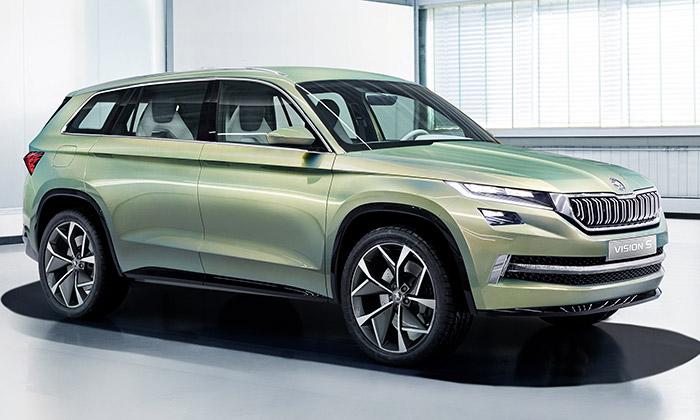 Škoda představila šestimístný koncept SUV VisionS